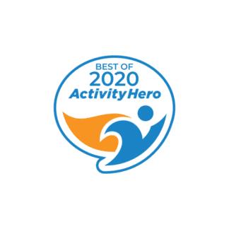 best of 2020 activity hero badge