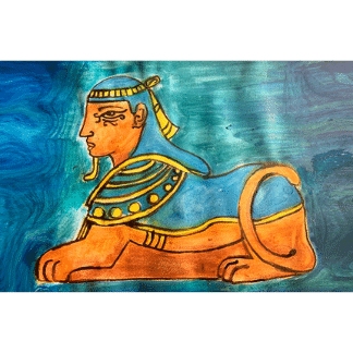 Egyptian times painting